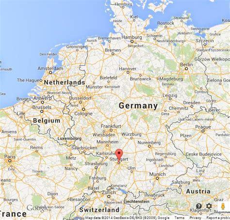 stuttgart on map stuttgart on map of germany world easy guides