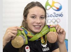 Penny Oleksiak 'would love' to carry Canadian flag if
