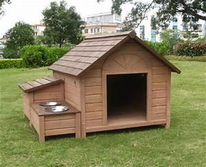 plan niche chien 10 niches pour chien a construire soi meme With large size dog house