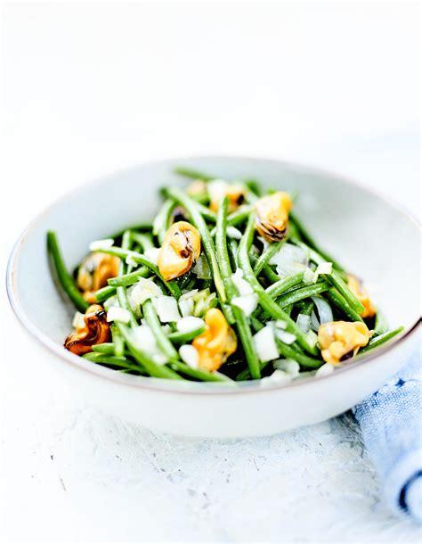 cuisine haricots verts haricots verts et vinaigrette de moules pour 4 personnes