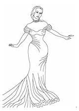 Coloring Princess Opera Elegance Magical Nicole Brio sketch template