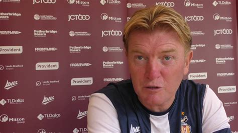 Stuart McCall ahead of Port Vale season opener - YouTube