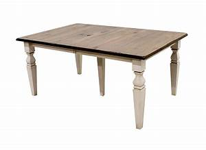 Cottage dining table with 6 urbana chairs dutch craft for Cottage dining tables
