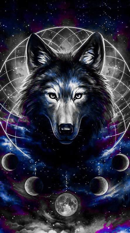 Galaxy Wolf Wallpaper Hd by Galaxy Wolf Wallpapers Free By Zedge