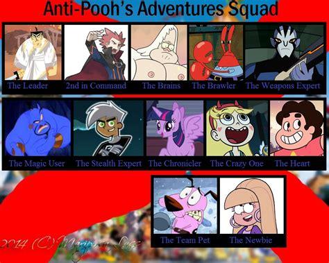 My Anti-pooh's Adventures Squad By Thedarkbrawler90 On