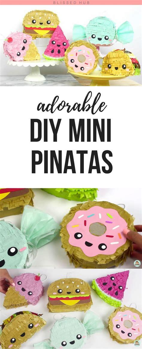 party decorating ideas adorable diy mini pinatas fun