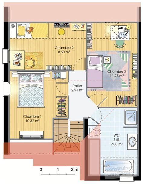 plans maisons plain pied 3 chambres maison dé du plan de maison faire