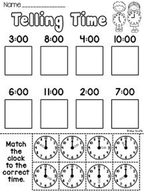 clock worksheets images math activities
