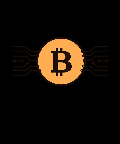 Check out amazing bitcoin artwork on deviantart. Bitcoin BTC Logo Cryptocurrency Design Digital Art by CalNyto
