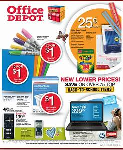 Back to School Deals: Office Depot Ad 7/17-7/23 - My