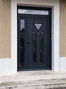 porte d39entree logikinov fenetres portes et pergolas a With porte d entrée double battant