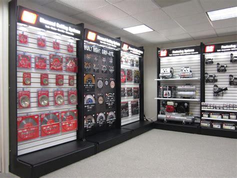 tool hardware store display