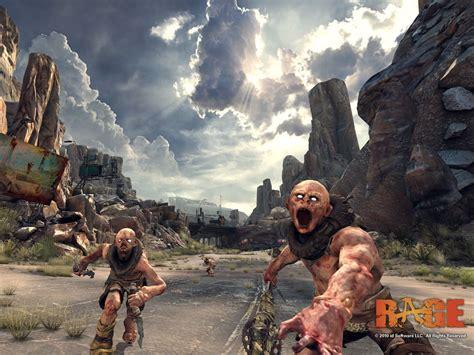 game news  rage screenshots surface gamedynamo