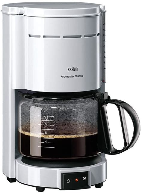 Kaffeemaschine Braun by Braun Kaffeemaschine 187 Aromaster Classic Kf 47 1 171 F 252 R 8 10
