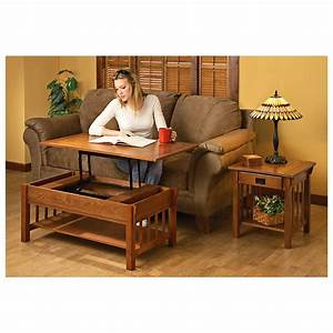 castlecreek mission style lift top coffee table 281544 With mission style lift top coffee table
