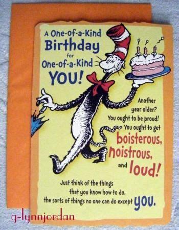 printable birthday cards hallmark dr seuss    kind birthday gree birthday