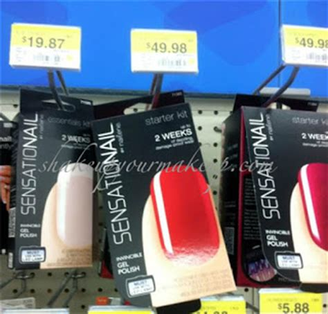 sensationail led l walmart spotted at walmart new nailene sensationail invincible