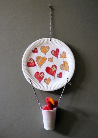 hot air balloon decoration thriftyfun