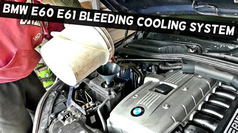 small engine maintenance and repair 2006 bmw m roadster security system how to bleed the cooling system on bmw e60 e61 530i 525i 530xi 525xi youtube