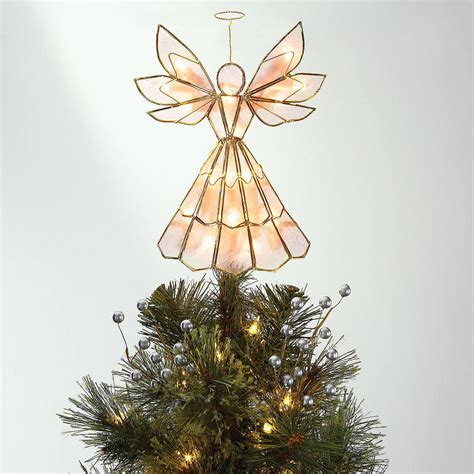 light up angel tree topper 9 dazzling tree toppers with serious wow factor coastal