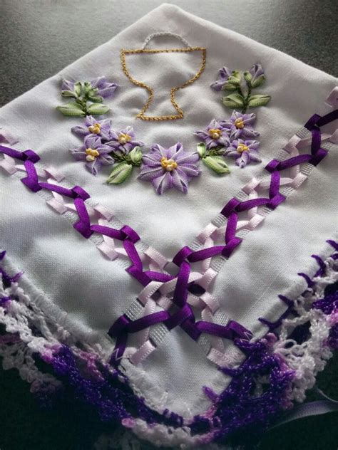 servilleta para 1ra comuni 243 n liston servilletas bordadas servilletas y recuerdos comunion