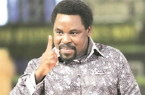 Prophet tb joshua na very popular nigerian preacher, televangelist, and founder of di synagogue church of all nations scoan. Real Coronavirus is dead, what is left is its remnants ...
