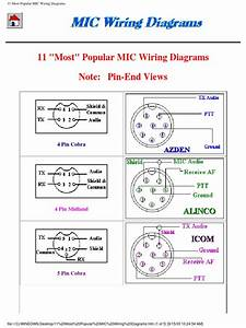 Maxon Microphone Wiring Diagram