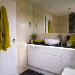 White Bathroom Decorating Ideas Go For Slick High Shine White Gloss Bathroom Decorating Ideas Housetohome Co Uk