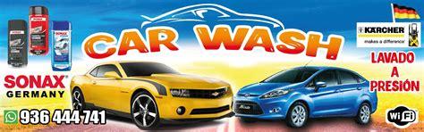 disenos publicitarios  car wash actividades
