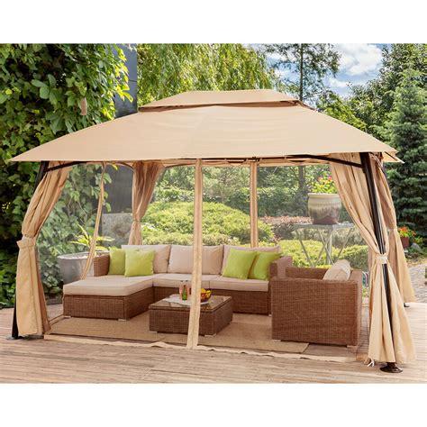 outdoor home    backyard garden awnings patio gazebo canopy tent netting  ebay