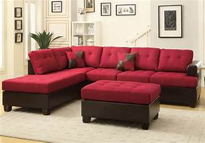3 pcs large living room reversible sectional sofa chaise for Sectional sofa reversible chaise living room furniture