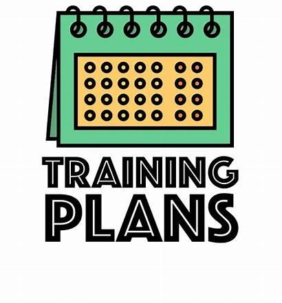 Clipart Workout Plan Schedule Marathon Training Running