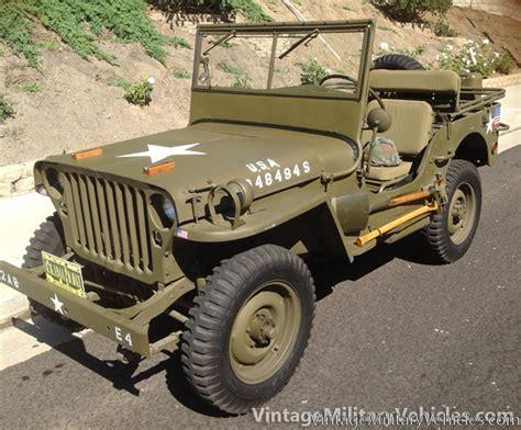 vintage military jeep vintage military vehicles for sale autos weblog