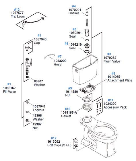 kohler archer toilet archer toilet replacement parts by kohler