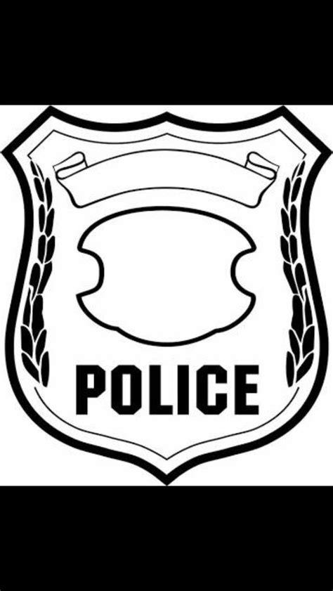 police badge craft for preschool 38 besten polizei ausmalbilder bilder auf 156