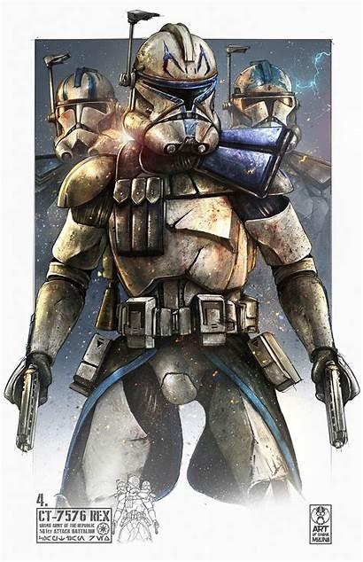 Rex Clone Wars Captain Star 501st Trooper
