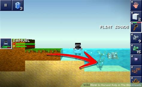 how to plant trees in blockheads how to harvest kelp in the blockheads 6 steps with pictures
