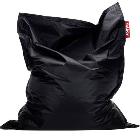fatboy original bean bag black comfort seating