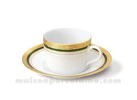 maison de la porcelaine tasse the soucoupe limoges empire 20cl maison de la porcelaine