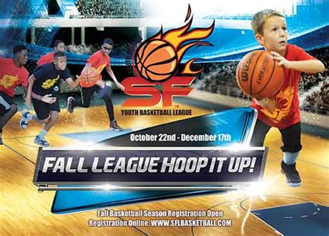 fall youth basketball seaon  registration