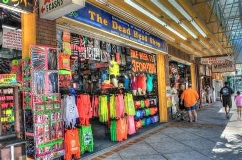 variety of stores picture of myrtle beach boardwalk