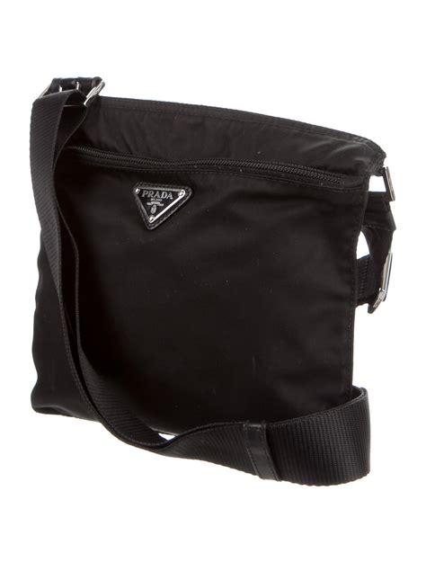 prada vela leather crossbody bag handbags pra