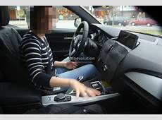 2015 BMW 1 Series Facelift Interior Spied with a New