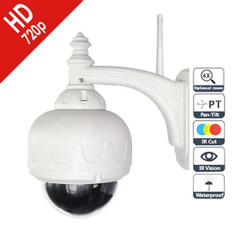 ip dome exterieur hd zoom optique 4x onvif