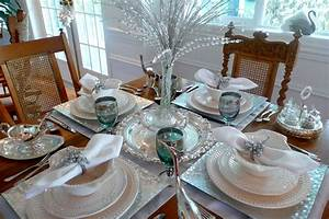 Chic silver charger plates in Traditional Vancouver with