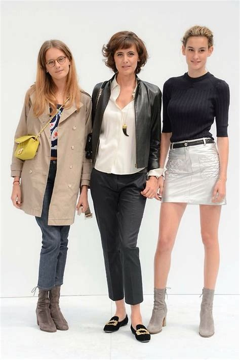 violette d urso in 232 s de la fressange and nine naima barcelona fashion