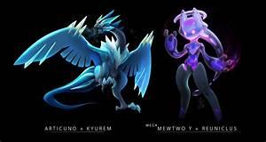 e621 articuno fusion kyurem legendary_pokémon mega ...
