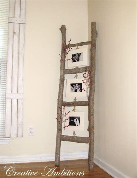 decorative ladder ideas 38 brilliant diy living room decor ideas diy joy