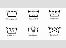 Laundry care symbols Denim References OzDenim Blog