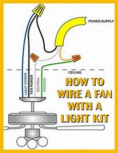 Replace a light fixture with ceiling fan